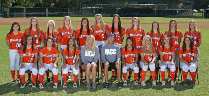 McLennan CC Softball