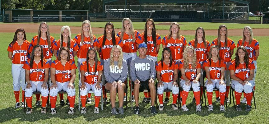 McLennan CC Softball