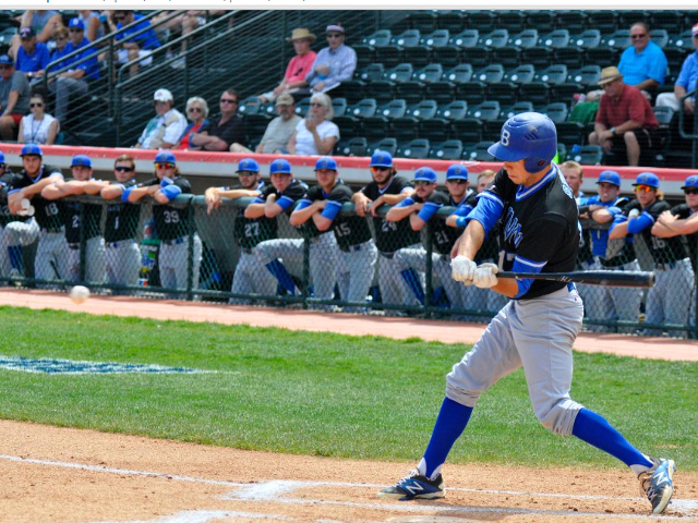 Blinn was knocked out of the NJCAA World Series with a 10-2 seven-inning loss at Suplizio Field in Grand Junction, Colo. on Wednesday. (Buccaneer Sports)