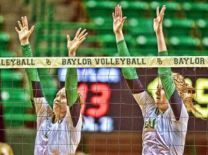 Bears mix five newcomers with one medical redshirt and 10 returnees. (Baylor Volleyball Facebook)