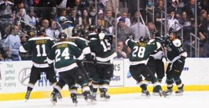 Texas Stars take a 2-1 Calder Cup Series lead with overtime win in Game 3. (Texas Stars Facebook)