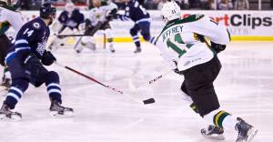 Texas fires 50 shots but lose 2-1 to St. John's in Game 2 of Calder Cup Finals. (Texas Stars Facebook)