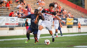 Aztex suffer rare home defeat to Laredo 1-0.