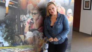 ESPN's Holly Rowe will cover the WCWS for her 10th year.