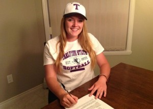 Tarleton Softball announces signing of junior college standout Rebeka Allen. (Courtesy photo)