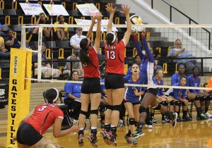 Belton vs Temple at Gatesville Tournament on August 23, 2014. (Facebook)