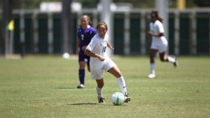 Bri Campos scores game-winner in 96th minute for a 1-0 overtime win over Rice. (Courtesy photo Baylor Athletics)