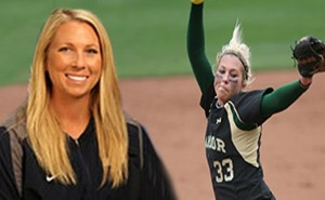 Jenny Fuller joins UT Dallas as Assistant Softball Coach and Women's Cross Country Head Coach. (Courtesy photos)