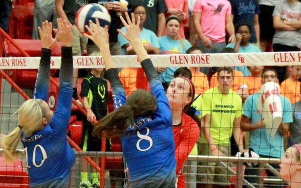 Sophie Bozarth lead No. 4  Glen Rose in a sweep over No. 11 Peaster on Tuesday. (Glen Rose Schools Facebook photo)
