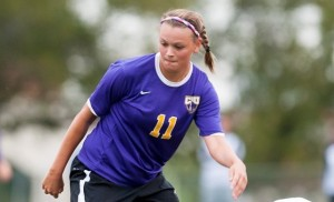 Kat Parker has been named the American Southwest Conference Co-Offensive Player of the Week for the week ending October 26th. (UMHB Athletics courtesy photo.)