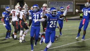 No. 3 Temple holds off Manor 28-14. (Temple Wildcats Athletics courtesy photo)