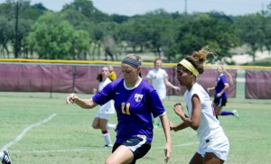 Kat Parker was the Schlotzsky's Lotz Better Player of the Game. (UMHB courtesy photo.)
