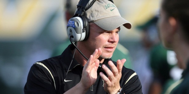 Sources say Baylor offensive coordinator Philip Montgomery will be named the new head coach at Tulsa. (Baylor Photography)