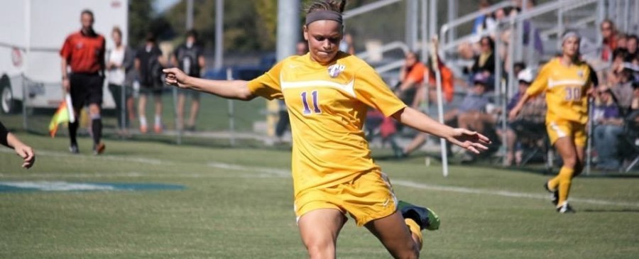 UMHB sophomore Kathryn Parker was named to the NSCAA/Continental Tire All-West Region Team for the first time in her career. (UMHB Athletics courtesy photo.)