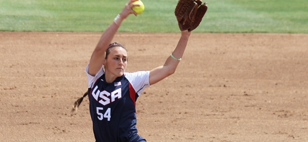 Jolene Henderson becomes the first ever player in team history for the Dallas Charge from NPF. (Courtesy photo.)