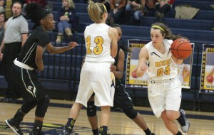 Stephenville and senior guard Cassidy Cline host Springtown Friday and Robinson Tuesday. (Photo by BRAD KEITH)