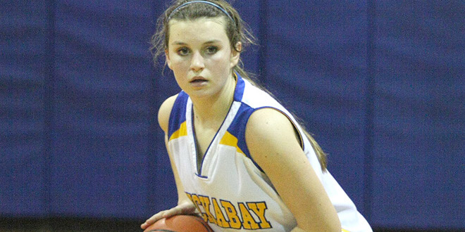Presli Bray is a big reason the Lady Indians are 18-7 overall and 5-2 in District 18-A. (Photo by BRAD KEITH)