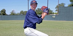 Sophomore pitcher Nathan Bertness (McLennan Athletics courtesy photo.)