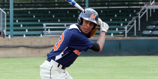 MCC sophomore Dimas Ojeda went 2-4 with an RBI to give the Highlanders a win over No. 12 Howard in Lubbock on Friday. (MCC Photo)