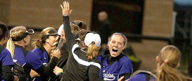 Tarleton State celebrates its win over West Texas A&M in last weekend's regional tournament in Canyon. (Tarleton Athletics Courtesy Photo)